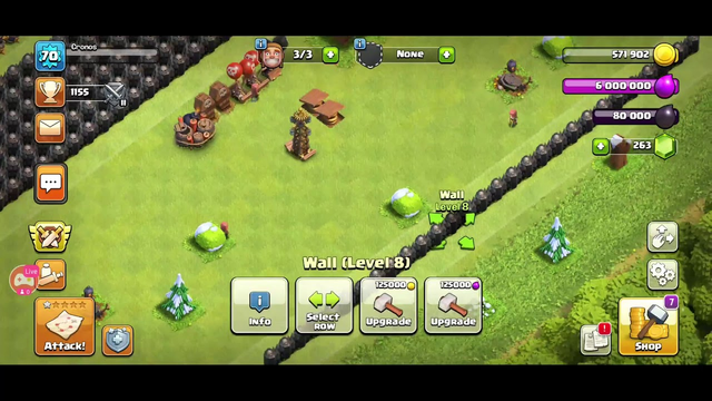 Maxing Out My TH8 on Clash of Clans