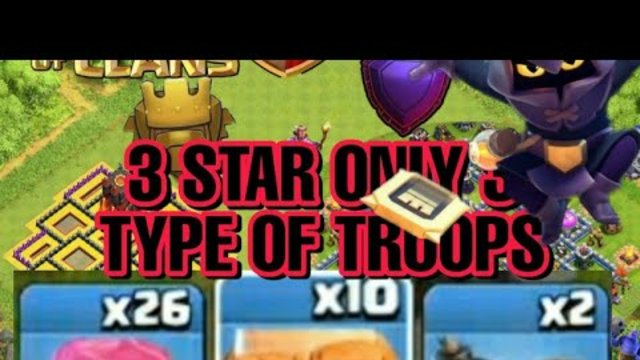 TOWNHALL 4 BEST ATTACKS STRATEGY || CLASH OF CLANS