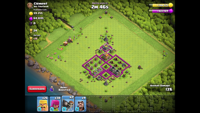 3 star on th7 (Clash of Clans)