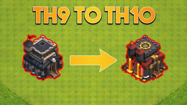 Upgrading The Base To TH10! - Clash of Clans
