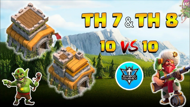 TH 7/8 | 10vs10 | Finals | Tournament | Clash of Clans | CoC