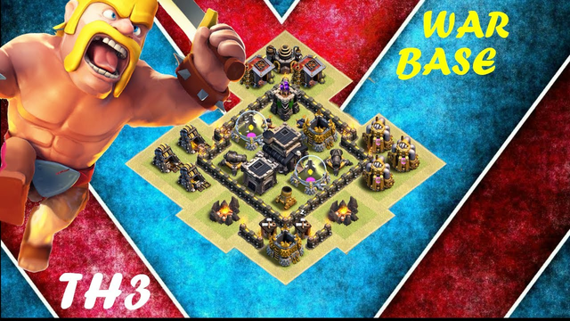 New Best Town Hall 3 (TH3) Farming Base Clash Of Clans (2021)