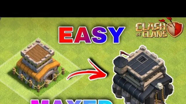 Easy Max Out Town Hall 8.. clash of clans..
