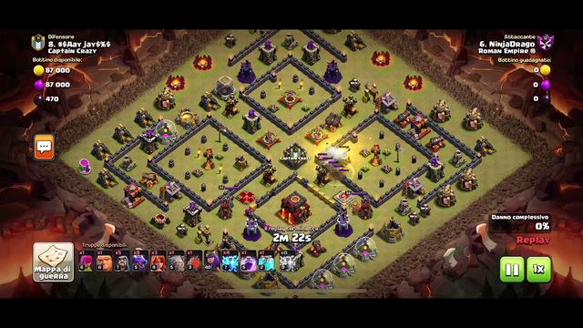 Clash of clans - dragons TH10