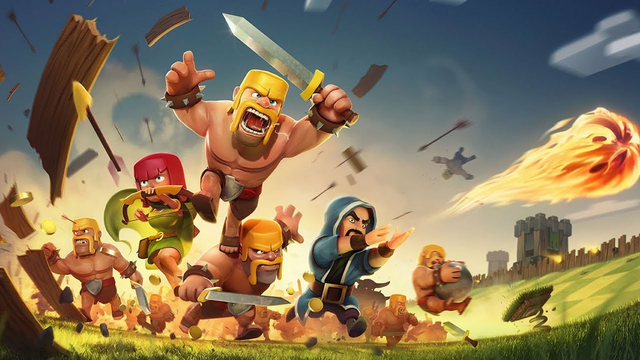 Clash Of Clans, Just got TH10 first video