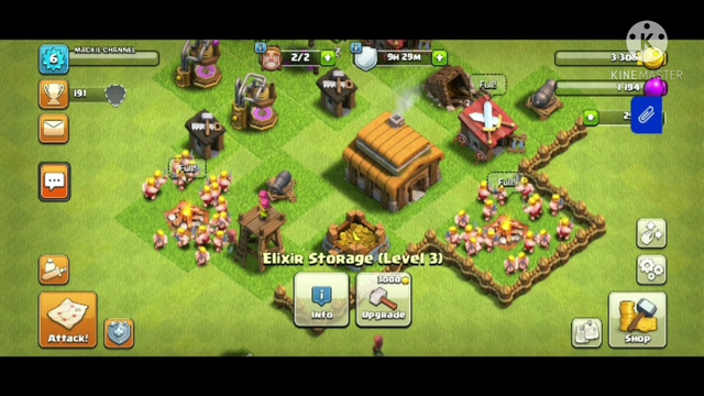 HOW TO PLAY CLASH OF CLANS FOR BEGINNERS  LEVEL 6 TH3