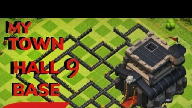 MY OP CLASH OF CLANS TOWN HALL 9 BASE