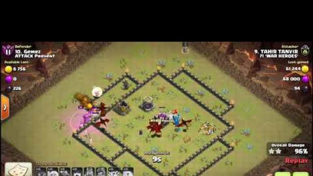 Clash Of Clans WAR 15 vs 15
