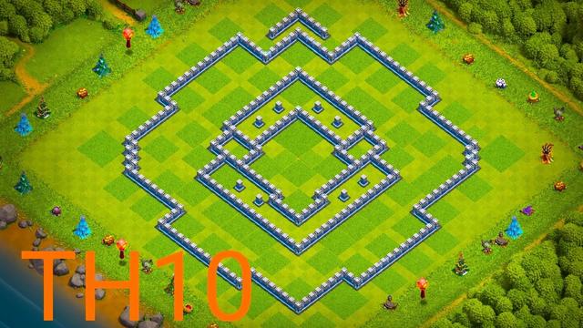 Th10 farming base + LINK | Th10 defense base | Clash of clans 2021