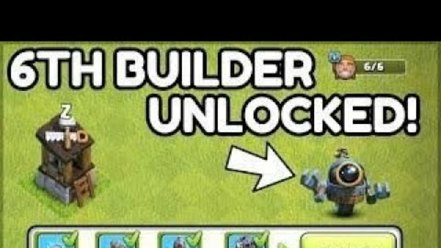 Unlocking the 6th Builder in Clash of Clans | Building Otto Builder without maxing out Builder Base