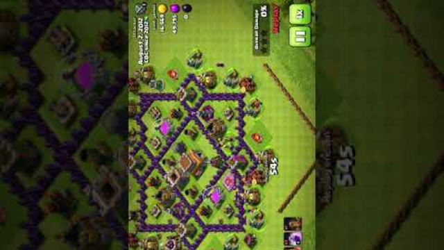 Big Loot Farming Using Valkyrie | TH8 Attack | Clash of Clans