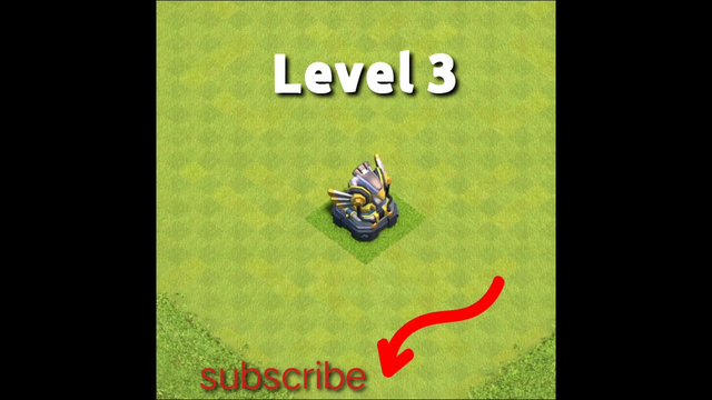 Eagle Artillery one more level  Clash of clans   #shorts #coc
