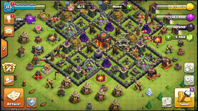Clash Of Clans  (coc) my epic defence
