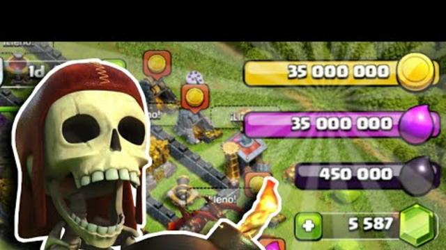 Logre Juntar 35 Millones de Recursos - Clash of clans