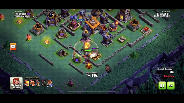 Best Builder Base attack || COC || IPhone XR || Clash Of Clans