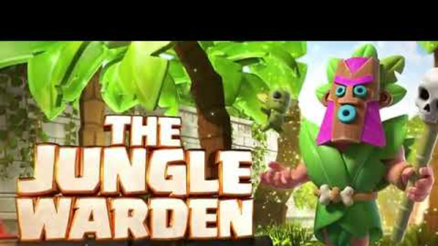 THE JUNGLE WARDEN Clash of Clans