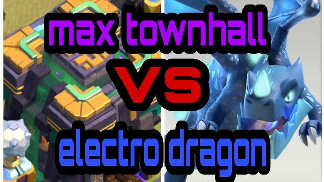 Clash Of Clans-Max Town hall(14) vs Electro Dragons  How to attack town hall 14  Green Master Goblin
