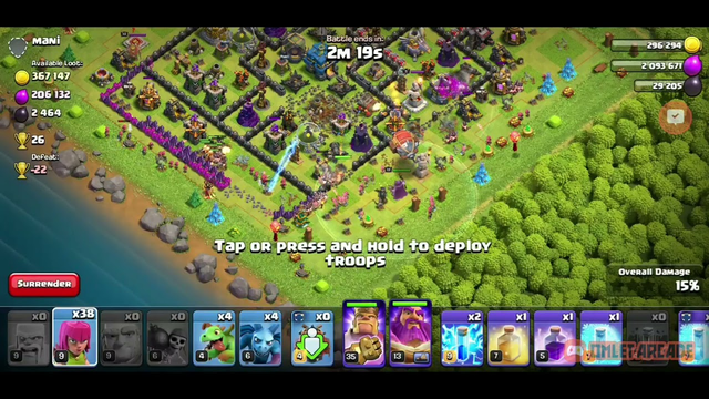 Clash Of Clans | Town Hall 12 | Home Village | Attack