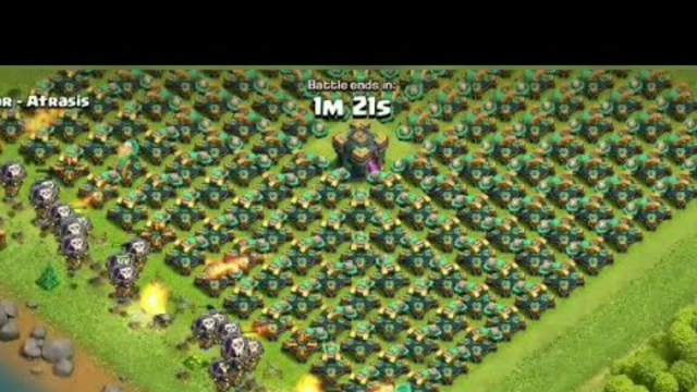 1000 MAX LEVEL BALOON VS SCATTER IN CLASH OF CLANS| #coc #cocshorts