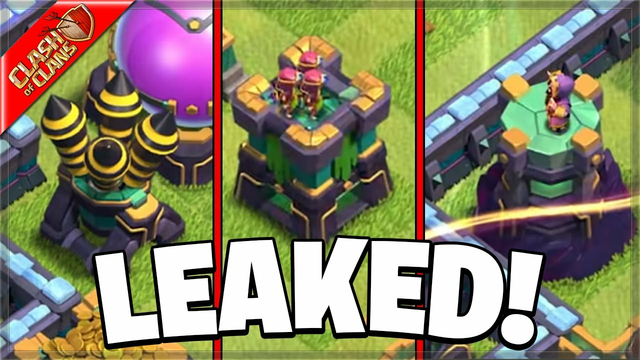 When will the NEW LEAKED DEFENSES come to Clash of Clans?