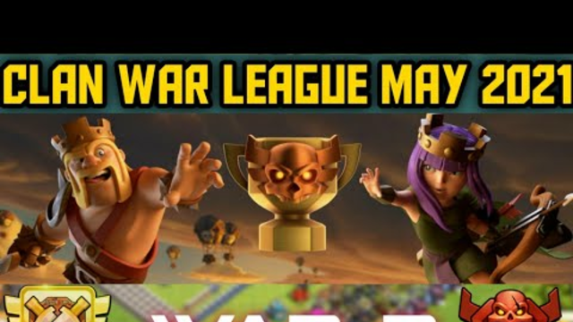 Clan war league May 2021 War 2 Clash of clans Tamil