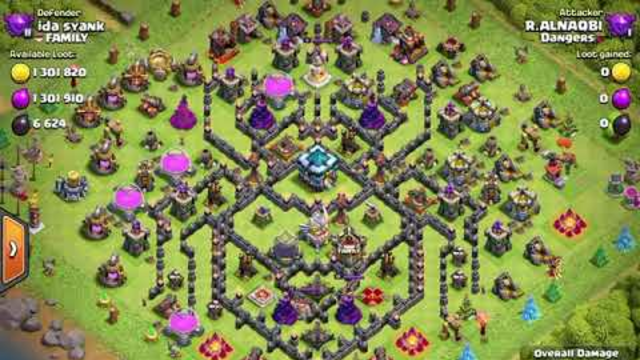 Clash of clans gameplay insane amount of loot from a raid
