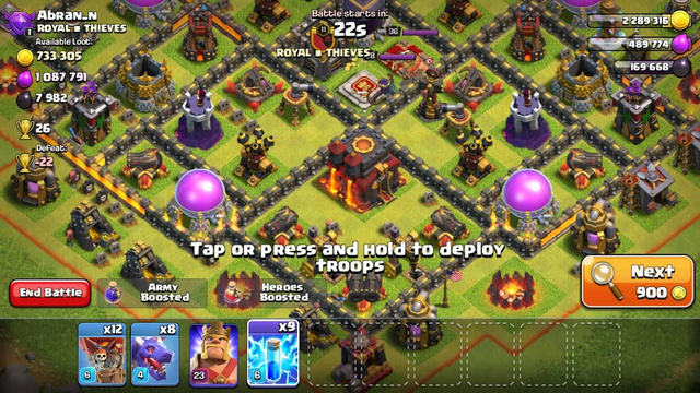 Clash Of Clans best loot of th10 (unbelievable)