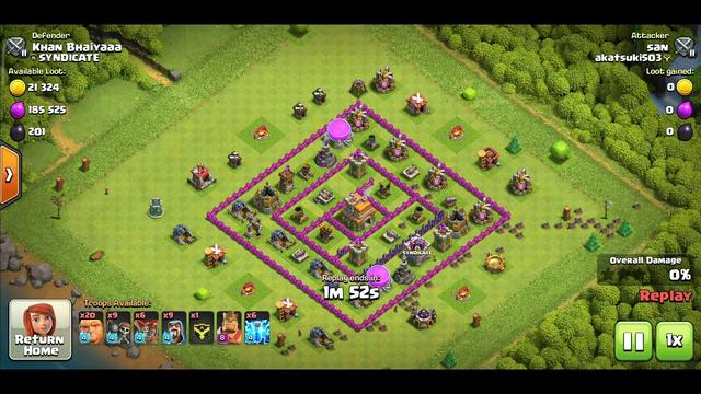 clash of clans successful defense part 3 #clashOfclans#ClashOfClansDefense