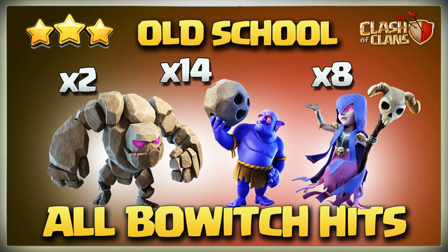 After UPDATE Th11 GoWitch- GoBoWitch * All Types Of BoWitch - Th11 Zap GoWitch - Th11 GiBoWitch Coc
