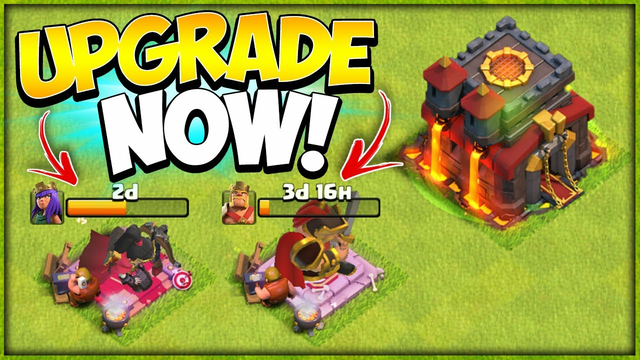 When Should You Upgrade Heroes at TH10?! Secrets to Level 40 Heroes (Clash of Clans)