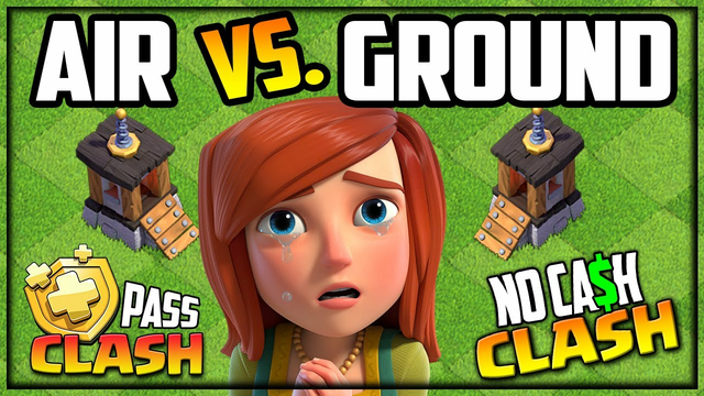 GROUND vs. AIR? The RACE to 6 Builders in Clash of Clans!