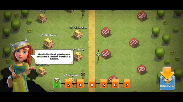 Clash of clans TH 4 full no skip (part 2)