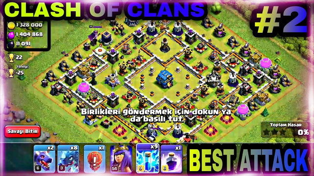BEST ATTACK WITH ELECTRO DRAGON #2 | TH12 |  CLASH OF CLANS