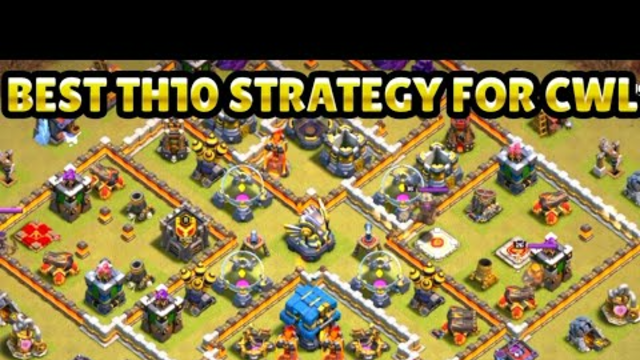 Th10 to Th12 attack in cwl best strategy in Clash of Clans #Clashofclans#Shorts