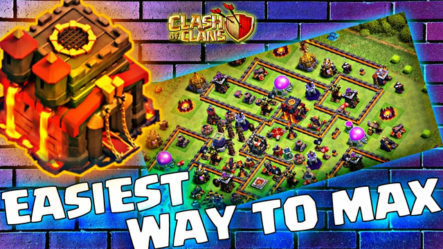 HOW TO MAX YOUR TOWNHALL (TH 10) FAST in Clash of Clans