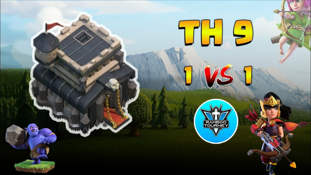 1vs1 | TownHall 9 | Finals | Tournament | Clash of Clans | CoC