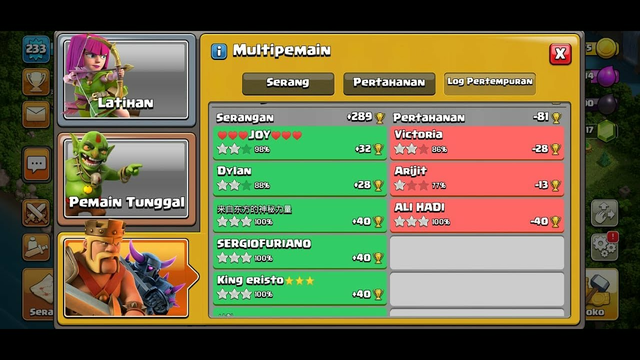 +289 trophy Legend league With army no max Clash of clans