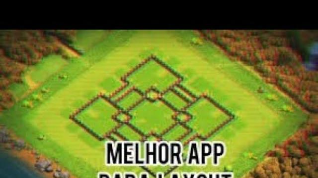 melhor app para layout no clash of clans