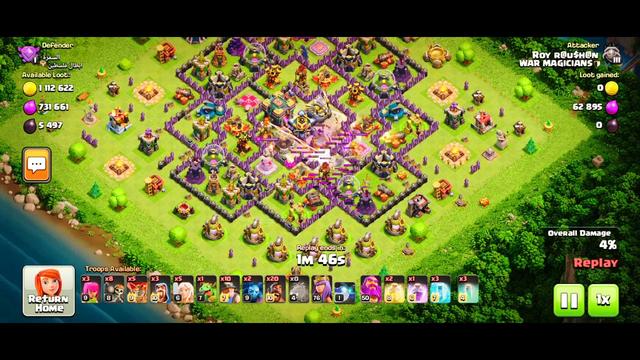 Th14 new meta...blizard hybrid/ clash of clans