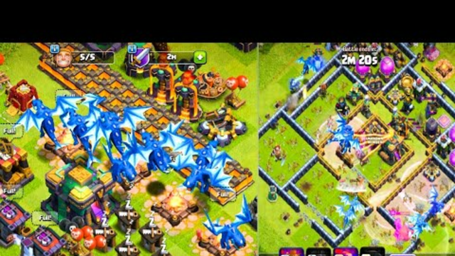 Electro Dragon Attack Town Hall 14 Max | Coc New Update 2021 | Clash of Clans Attack |