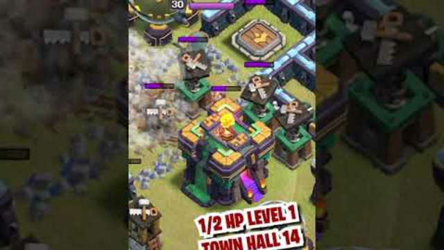 REPAIRED by Battle Builders - Clash of Clans #shorts