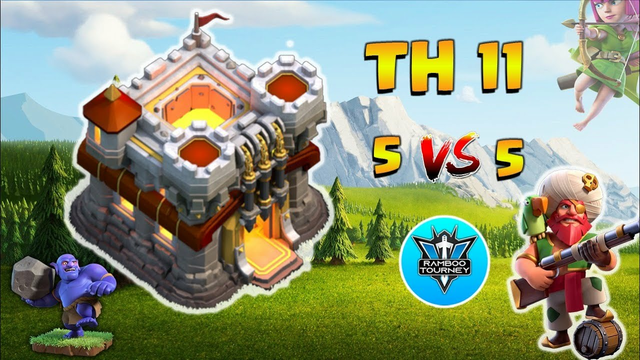5vs5 | TownHall 11 | Finals | Tournament | Clash of Clans | CoC