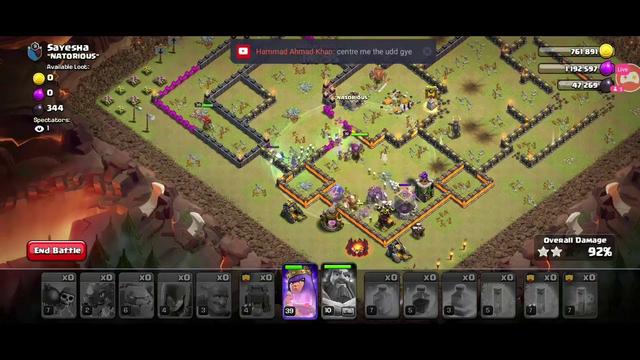 #IDgiveaway live stream Clash of Clan #coc #varunsatyal