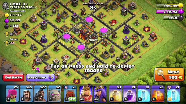 GoHog Clash Of Clans Attack Strategy (3)