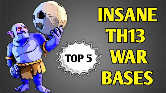 TH13 INSANE WAR BASE LAYOUTS WITH LINK | CLASH OF CLANS