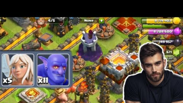 Easiest TH11 Strategy Ever! Bowling with Bats is the Best Attack in Clash of Clans