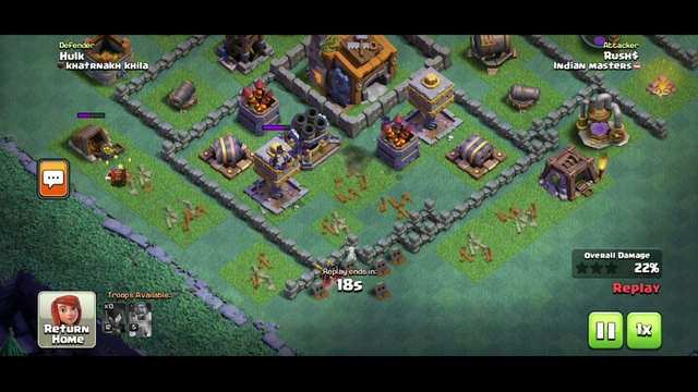 Clash of clans biggest lol | night witch lol | builder base