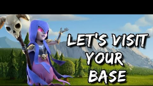 Clash of clans Live streaming | Let's visit your base | #COC | #clashofclans