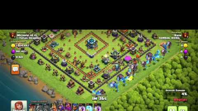 Clash of Clans - just another raid once a week