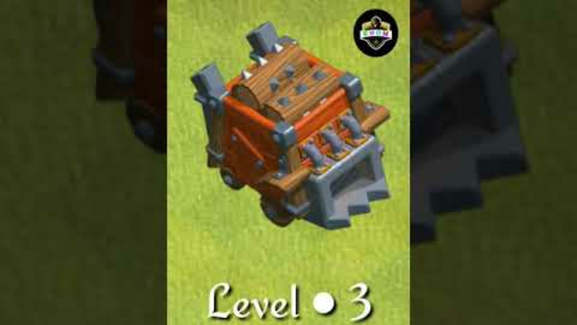 Log Launcher level-1 to max / Clash of clans / TH-14  #COC #Shorts #ENOM